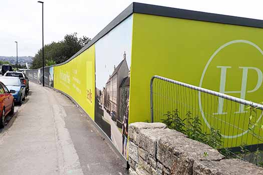 Printed and Installed Site Hoarding