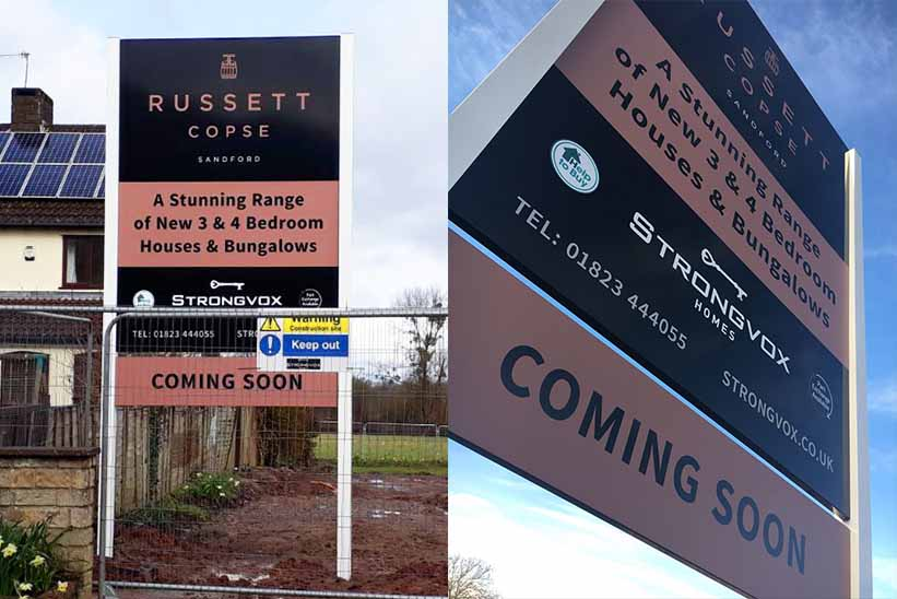property development main signs